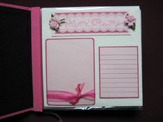 8 x 8 scrapbook pages for baby girl album by ksrobinson - Cards and Paper Crafts at Splitcoaststampers