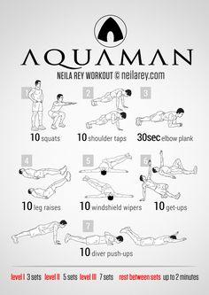 Aquaman Workout | neilarey.com | #fitness #bodyweight