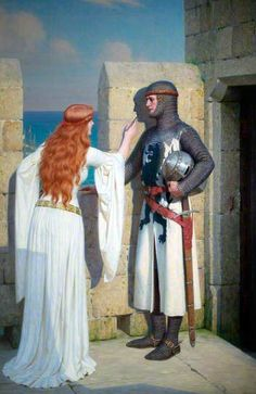 The Shadow - Edmund Blair Leighton (1909) another of my most favorite images. I think her love is about to leave for the Crusades. She is sketching his silhouette....something to treasure while he is gone for years.