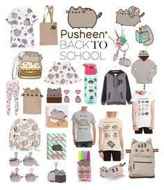 """""""#PVxPusheen"""" by roweally ❤ liked on Polyvore featuring Pusheen, contestentry and PVxPusheen"""