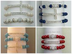 Pave Stack Bracelets by gemsbydawn on Etsy, $12.00