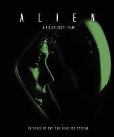 Animation makes Alien even creepier. | 17 Movie Posters Improved With Animation