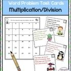 Students will get a kick out of these Word Problem Task Cards as they practice using multiplication and division facts. 30 Task Cards included. $