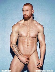 Redhead guys naked seems me