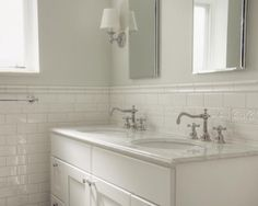 White Subway Tile Bathroom Design Pictures Remodel Decor And Ideas