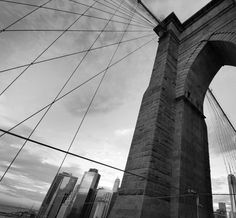 Brooklyn Bridge, New York by Jerome Gauthier Brooklyn Bridge, New York, Travel, New York City, Viajes, Traveling, Nyc, Tourism, Outdoor Travel