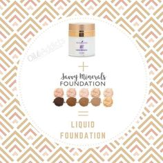 If you like cream makeup Young Living Makeup, Young Living Oils, Foundation Tips, Mineral Foundation, Are Essential Oils Safe, Young Living Essential Oils, Savvy Minerals, Yl Oils, Diy Beauty
