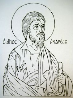 Line drawing patterns for Byzantine icons; how to make your own pattern Silverpoint, Byzantine Icons, Line Drawing, Art Forms, Catholic, First Love, Black And White, Cartoons, Gallery