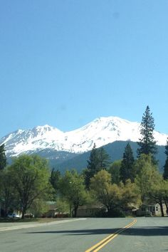 Mt. Shasta in California