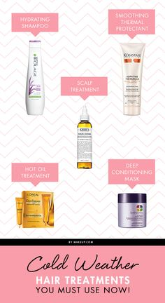 Cold Weather Hair Treatments You Must Use Now!