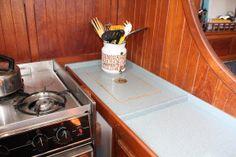 Corian Custom Countertops   Diversified Marine, Boat Repair U0026 Restoration |  Diversified Marine