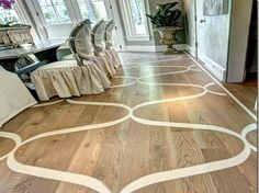 Hardwood Floor Paint wood floor makeover paint or not curbly Painted Wood Floors Effective Way To Expressing Your Personal Taste In The Dining Room