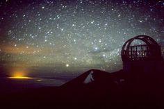 Observatory top of Mauna Kea