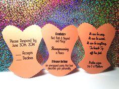 pick your color bachelorette party bridal by innovativegoodies 175 bachelorette invitations bachelorette ideas