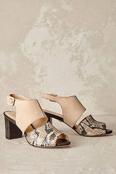 Beatriz Snakeskin Heels