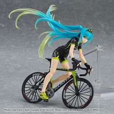 [10X TOM Points ITEM BONUS]Pre-order by July 8, 2016 at 12 midnight (PDT) to earn a 10X TOM Points Item Bonus on this item!  The 2015 Racing Miku is here to support TeamUKYO!GOODSMILE RACING & TeamUKYO director Ukyo Katayama's bicycle team is supported by Racing Miku! An all new Racing Miku figma wearing the cycling jersey used by the 2015 TeamUKYO team!  Using the smooth yet posable joint... #tokyootakumode #figure