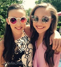 Kendall Vertes Maddie Ziegler ❤️ forever like sisters XOXOXO