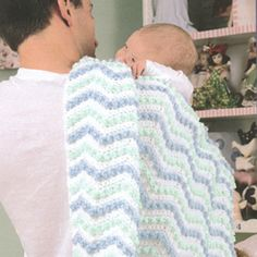 Free Easy to Crochet Baby Afghan Pattern