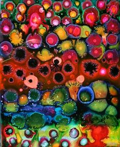 the biology of a rainbow Abstract Landscape, Abstract Art, Elements And Principles, Polymer Clay Art, Patterns In Nature, Altered Art, All Art, Art Projects, Artwork