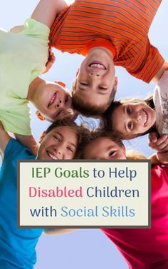IEP goals for Social Skills and Social Emotional Learning: Measurable, IEP goal suggestions, plus how to determine if they are appropriate for your child. Kids Learning Activities, Sensory Activities, Educational Activities, Iep Meetings, All Family, Social Skills, Special Education, Parenting, Goals