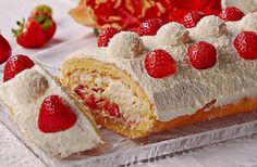 Erdbeer - Raffaello - Rolle, ein sehr schönes Rezept aus der Kategorie Kuchen. Bewertungen: 17. Durchschnitt: Ø 4,4.