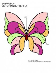 Stained Glass Butterfly Lamp - Foter