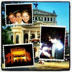 JOSH GROBAN - Alte Oper Frankfurt mit 2 neuen Freundinnen (dort gefunden!!!)