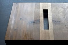 high+dry.table_reclaimNYC_december.2012 by danielmoyerdesign , via Behance