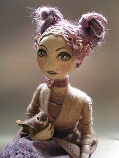 Abi Monroe - Beautiful art doll!