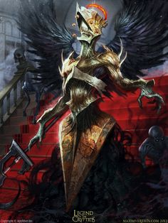 Artist: Maxim Verehin - Title: great inquisitor - Card: Unknown