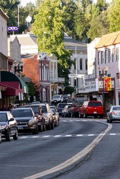 Main Street, Placerville, California, Sierra Springs Photography