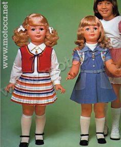 boneca amiguinha anos 70                                                                                                                                                                                 Mais