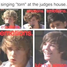 so true in ever performence they do. in tell me a lie zayn was actully tearing up and lou was just smiling :P