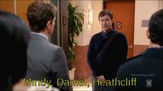 """Because it would be amazing if Brendan Deslaurier delivered Mindy and Danny's baby? 