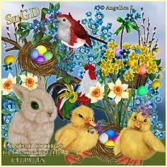 Dagny`s Scrap und Grafik Design: CU/PU Easter comes