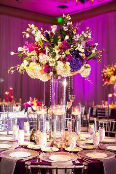 Ritz Carlton Dallas Wedding Fuchsia Purple Www Significanteventsoftexas Reception