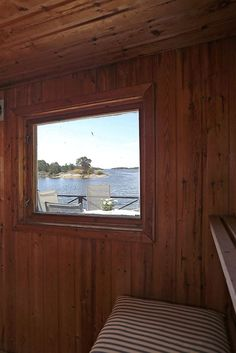 Stockholm archipelago, view from Sauna.