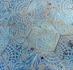 gaudi flower tiles - Google Search More