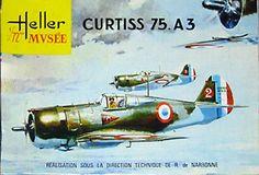 HELLER Curtiss Hawk 75