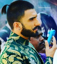 Ranveer Singh. Can I please got a hubba hubba for that beard?