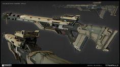 ArtStation - DoubleTake Sniper Rifle - Titanfall 2, Brian Burrell