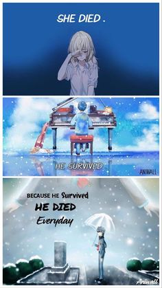 that anime was so sad and I have been trying to forget it. Now im crying - Why…that anime was so sad and I have been trying to forget it. Now im crying - Sad Anime Quotes, Manga Quotes, Koe No Katachi Anime, Manga Japan, Comics Und Cartoons, Anime Triste, Your Lie In April, Dark Quotes, A Silent Voice