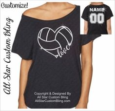 This Custom Volleyball Heart with Player Name & Number design is placed on a super comfy and soft Dolman shirt. You will absolutely love the softness and style of this shirt! It will be your favorite for years to come. You may select from 3 shirt colors from picture 3 and you can see the glitter colors in picture 2.  ►TO CUSTOMIZE - Leave the following info in the NOTES box at check out:  1. Player Name 2. Player Number 3. Glitter Color - (see picture 3 - WHITE glitter will be used if no…