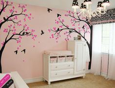 Large tree decal wall Mural Huge Tree wall decal by StudioQuee
