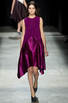Narciso Rodriguez dress...perfect for the holidays