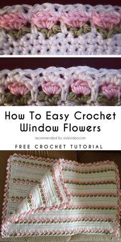 Captivating All About Crochet Ideas. Awe Inspiring All About Crochet Ideas. Crochet Stitches Free, Crochet Edging Patterns, Knit Or Crochet, Crochet Motif, Crochet Designs, Crochet Crafts, Easy Crochet, Crochet Projects, Free Crochet