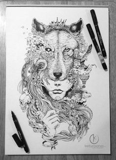 """Philippines-based illustrator Kerby Rosanes works mainly with ordinary black pens to magically illustrate his """"doodle"""" world. The 23-year old artist considers his art as a personal hobby which turned out to be his part-time freelance work after being..."""