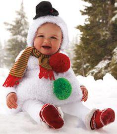 Snowman baby costume-Chasing Fireflies futur, halloween ...
