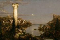 Thomas Cole, Desolation, 1836