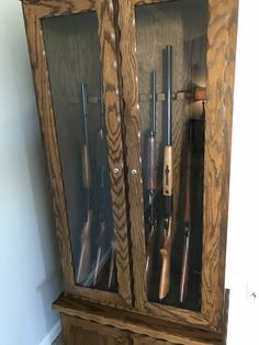 Not recommended to have guns at an OPEN HOUSE Open House, Wine Rack, Guns, Real Estate, Storage, Furniture, Home Decor, Weapons Guns, Purse Storage